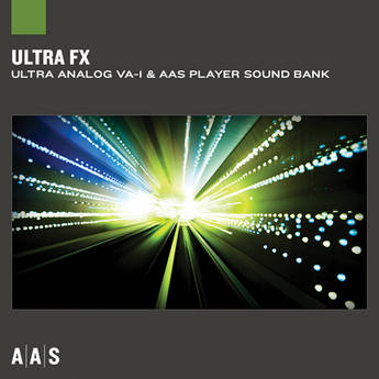 Applied Acoustics Systems Ultra FX Sound Bank and AAS Player Virtual Instrument Plug-in