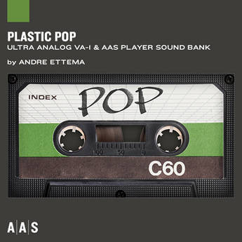 Applied Acoustics Systems Plastic Pop Sound Bank and AAS Player Virtual Instrument Plug-in