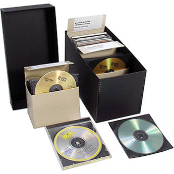 Archival Methods CD/DVD Storage Complete Kit with 100 Sleeves