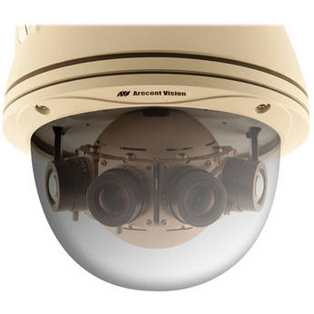 Arecont Vision AV8185DN-HB 8 MP Day/Night 180° Panoramic  Camera with Heater & Blower