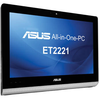 """ASUS ET2221IUTH-03 21.5"""" Multi-Touch All-in-One Desktop Computer (Black)"""