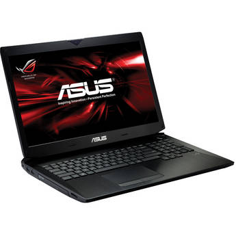 """ASUS Republic of Gamers G750JW-DB71 17.3"""" Notebook Computer (Black)"""