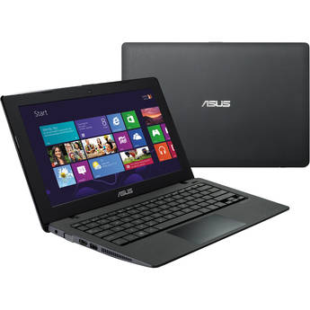 """ASUS K200MA-DS01T 11.6"""" Multi-Touch Notebook Computer (Matte Black)"""