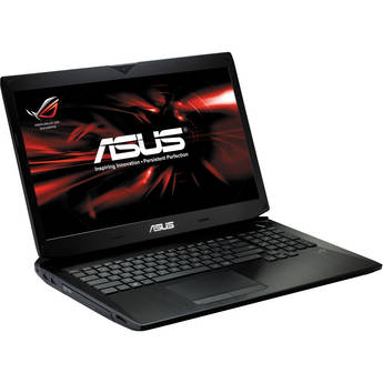 """ASUS Republic of Gamers G750JX-DB71 17.3"""" Notebook Computer (Black)"""