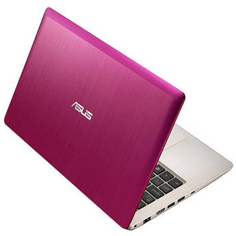 """ASUS VivoBook X202E-DH31T-PK 11.6"""" Multi-Touch Notebook Computer (Pink)"""