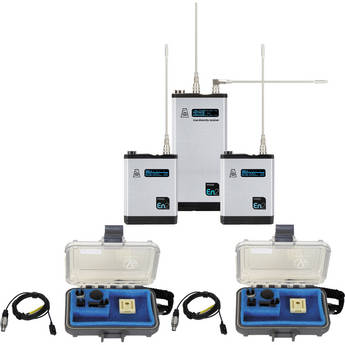 Audio Ltd. TXPH Transmitter and DX2 True Diversity Receiver Set (512 to 542MHz)