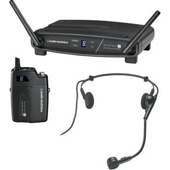 Audio-Technica ATW-1101/H System 10 Digital Wireless Headworn Dynamic Microphone Set