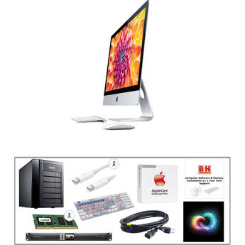 "B&H Photo iMac Turnkey 27"" iMac Pro-Level Turnkey Kit with 1-Year Adobe Creative Cloud"