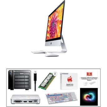 "B&H Photo iMac Turnkey 27"" iMac Mid-Level Turnkey Kit with 1-Year Adobe Creative Cloud"