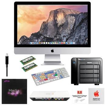 "B&H Photo iMac Turnkey 27"" iMac Mid-Level Turnkey Kit with Media Composer 8 and Intensity Extreme"