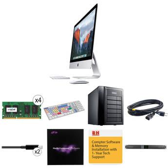 """B&H Photo iMac Turnkey 27"""" iMac Pro-Level Turnkey Kit with Avid Media Composer 8"""