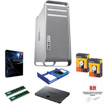 B&H Photo Mac Pro Workstation Production Premium CS6; Upgraded RAM and Data Storage