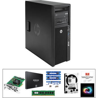 B&H Photo PC Pro Workstation Z420 Mid-Level Turnkey Kit with Premier Pro Creative Cloud