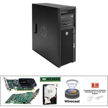B&H Photo PC Pro Workstation Z420 Mid-Level Turnkey Video Kit with Telestream Wirecast Studio