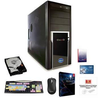 B&H Photo PC Pro Workstation Rain Stratus-Based Entry Level CS6 Production Premium Turnkey