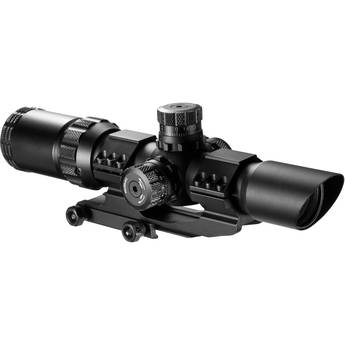 Barska 1-4x28 SWAT-AR Riflescope (Mil-Dot)