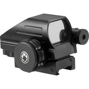 Barska Multi-Reticle Electro Sight with Red Aiming Laser