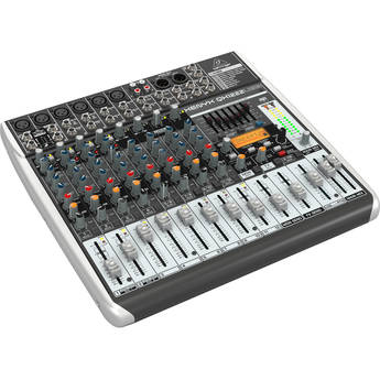 Behringer XENYX QX1222USB - 16-Input USB Audio Mixer with Effects