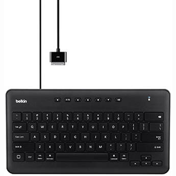 Belkin Secure Wired Keyboard for iPad with 30-pin Connector