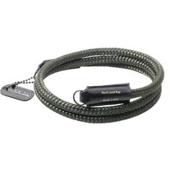Black Label Bag Silk Cord Camera Strap (Peat)