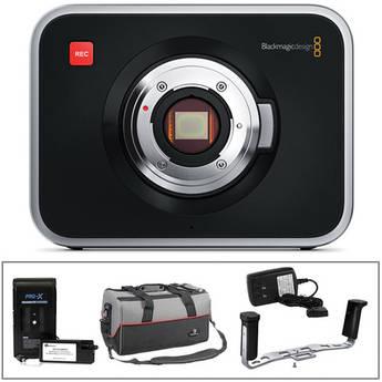 Blackmagic Design Blackmagic Cinema Camera MFT Mount Kit w/Handgrip & External Battery