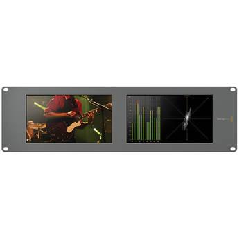 Blackmagic Design Smartscope Duo 4K Rack Mounted Dual 6G-SDI Monitors