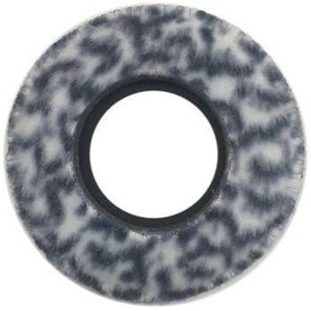 Bluestar Viewfinder Eyecushion -  Round, Ultra Small, Fleece (Snow Leopard)