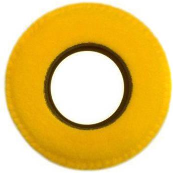 Bluestar Round Ultra Small Viewfinder Eyecushion (Fleece, Yellow)