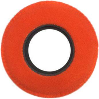 Bluestar Round Ultra Small Viewfinder Eyecushion (Fleece, Orange)