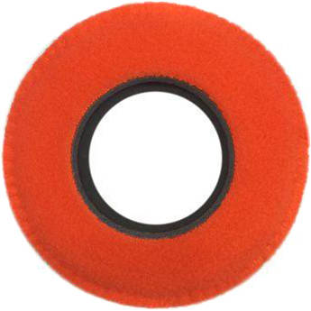 Bluestar Viewfinder Eyecushion -  Round, Ultra Small, Fleece (Orange)