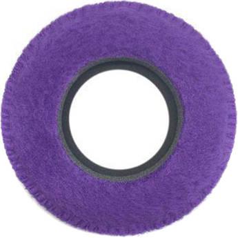 Bluestar Round Ultra Small Viewfinder Eyecushion (Fleece, Purple)