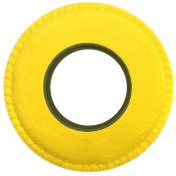 Bluestar Viewfinder Eyecushion -  Round, Ultra Small, Ultrasuede (Yellow)