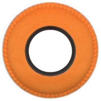 Bluestar Round Ultra Small Viewfinder Eyecushion (Ultrasuede, Orange)