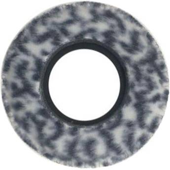 Bluestar Viewfinder Eyecushion -  Round, Extra Small, Fleece (Snow Leopard)