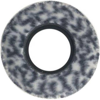 Bluestar Viewfinder Eyecushion -  Round, Extra Small, Fleece (Snow Leopard)