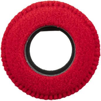 Bluestar Viewfinder Eyecushion -  Round, Extra Small, Fleece (Red)