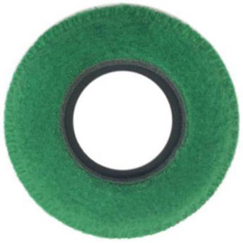 Bluestar Viewfinder Eyecushion -  Round, Extra Small, Fleece (Green)