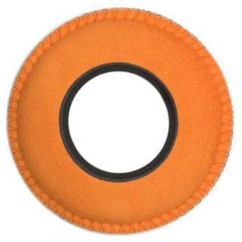 Bluestar Viewfinder Eyecushion -  Round, Extra Small, Ultrasuede (Orange)