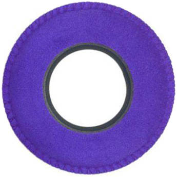 Bluestar Viewfinder Eyecushion -  Round, Extra Small, Ultrasuede (Purple)