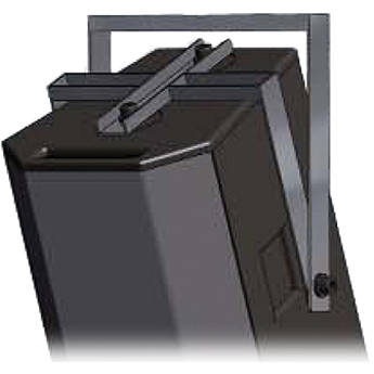 Bogen Communications Yoke Assembly for AE-2 Wide-Angle Loudspeaker System (White)