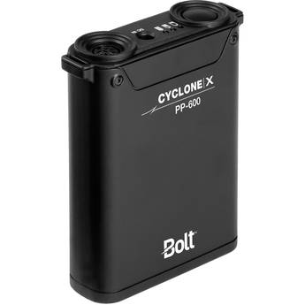 Bolt Cyclone X PP-600 Compact Power Pack for Portable Flashes