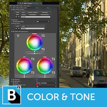 Boris FX Continuum 11 Color and Tone Unit (Upgrade, Download)