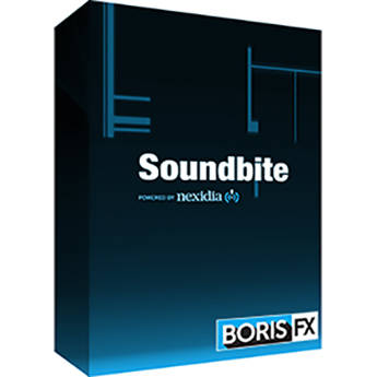 Boris FX Boris Soundbite for Mac - UK English (Download)