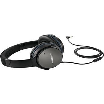 Bose QuietComfort 25 Acoustic Noise Cancelling Headphones (iOS, Black)