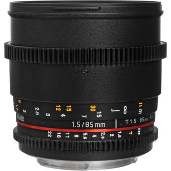 Bower 85mm T1.5 Cine Lens for Sony E