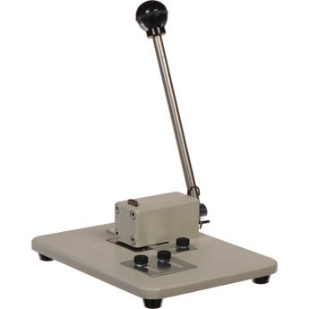 BRADY PEOPLE ID Manual Table Top Slot Punch with Adjustable Guides (Medium)