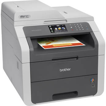 Brother MFC-9130CW Wireless Color All-in-One Laser Printer