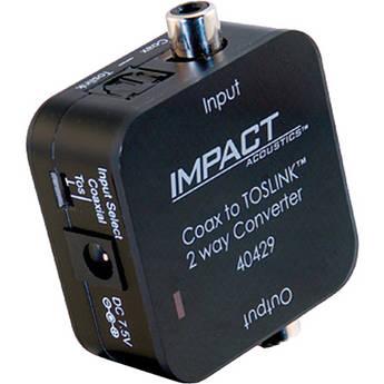 C2G Dual Output Digital Audio Adapter (Black)