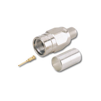 Canare 75-Ohm F-Type Crimp Plug for Select Belden Cables