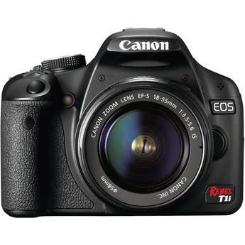 Canon EOS Rebel T1i (500D) Digital SLR Kit w/EF-S 18-55mm f/3.5-5.6 IS Lens